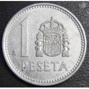 1 песета 1982 год  Испания