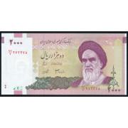 2000 риалов 2005  год. Иран