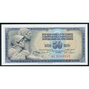50 динар 1968 год .  Югославия