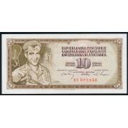 10 динар 1968 год .  Югославия