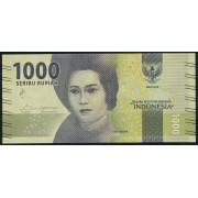 1000  рупий  2016 год . Индонезия