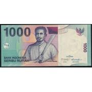 1000  рупий  2013 год . Индонезия
