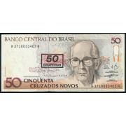 50 крузейро 1990 год .Бразилия