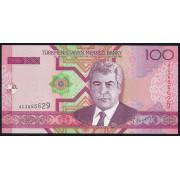 100 манат 2005 год. Туркменистан