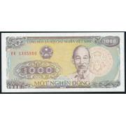 1000 донг 1988 год. Вьетнам