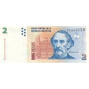 2 песо 1977-2002 год  . Аргентина