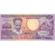 100 гульденов 1986 год . Суринам