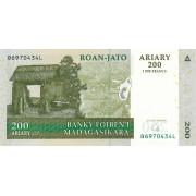200 ариари 2004 год.Мадагаскар