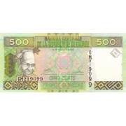 500 франков 2006 год . Гвинея