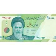 10000 риалов 2017 год. Иран