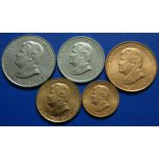 Набор монет  Туркменистан 1993 год