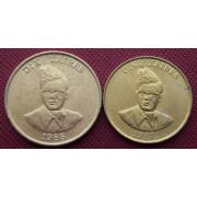 Набор монет  Заир 1987- 1988 г.г