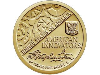 1 доллар 2018 год. Американские инновации- первый патент