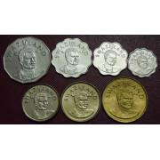 Набор монет  Свазиленд