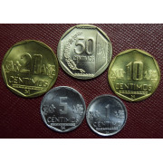 Набор монет Перу 2010 год