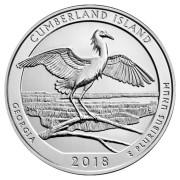 25 центов 2018 год. 44-й парк  Остров Камберленд