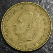 1 песета  1975 г Испания