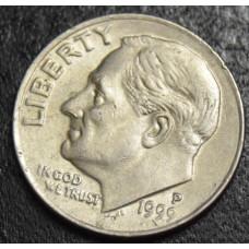 1 дайм 1999 год-Рузвельт