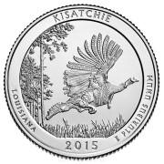 """25 центов 2015 год.  27-й Национальный парк """"Кисачи"""""""