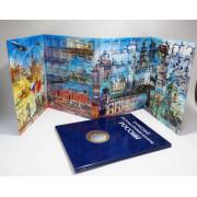 Альбом-планшет  для десятирублёвых биметаллических монет ( на 126 монет)