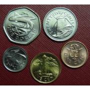 Набор монет  Барбадос 2009-2011 г.г