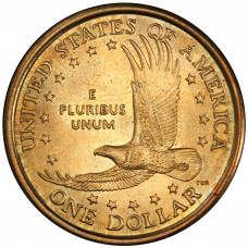 1 доллар 2008 год   Сакагавея - Парящий орёл