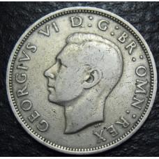 1/2 кроны 1948 год Великобритания