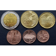 Набор монет  Азербайджан 2006 год