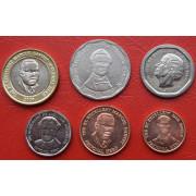 Набор монет  Ямайка 1996- 2008 г.г