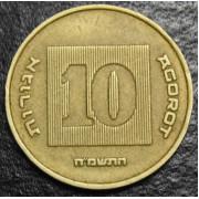 10 агорот 1985 год  Израиль