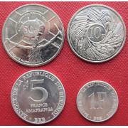 Набор монет  Бурунди  1980 -2011  г.г