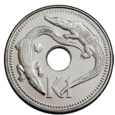 1 кина 2004 год Папуа - Новая Гвинея