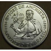 200 эскудо 1997 год . 400 лет со дня смерти Хосе де Анчьета