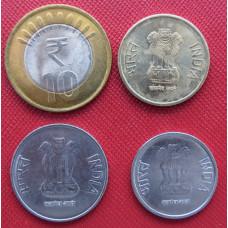 Набор монет  Индия 2011 год