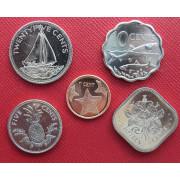 Набор монет  Багамские острова