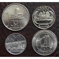 Набор монет Парагвая