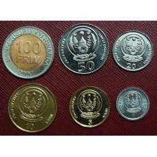 Набор монет Руанды