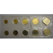 Набор монет 1990 год  ММД