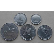 Набор монет Грузии 1993 год