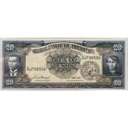 20 песо 1949г Филиппины