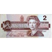 2 доллара 1986 год . Канада