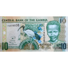 10 даласи 2006-12г Гамбия