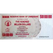 500 000 000 долларов 2008г Зимбабве