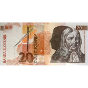 20 толаров 1992г Словения