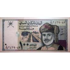 100 байз  1995 год . Оман
