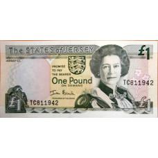 1 фунт 2000г Джерси