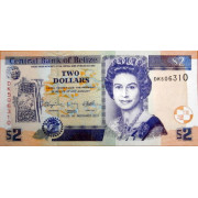2 доллара 2011г  Белиз