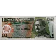 1 кетцаль 2008г (пластик) Гватемала