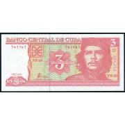 3 песо 2004 год .  Куба