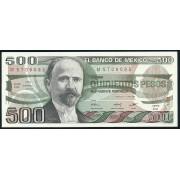 500 песо 1981 - 84 год . Мексика
